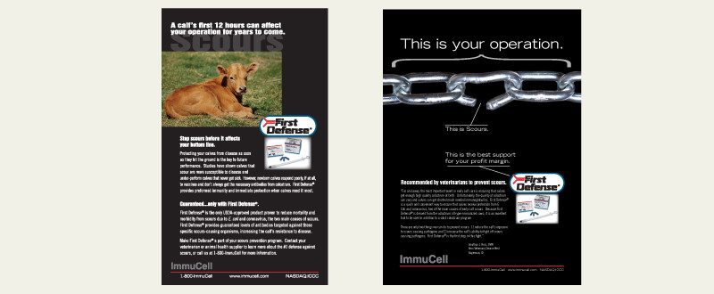 ImmuCell Advertising