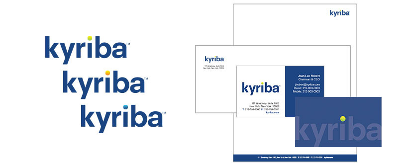 Kyriba Branding