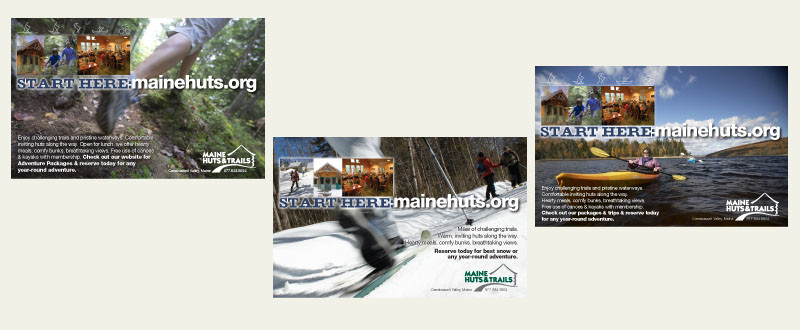 Maine Huts & Trails Ad Series