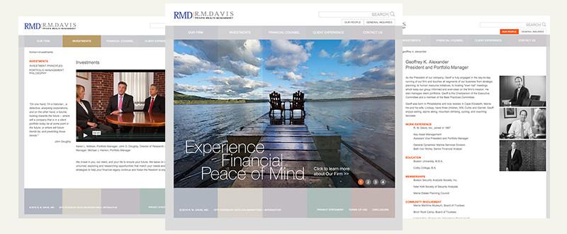 R. M. Davis Website