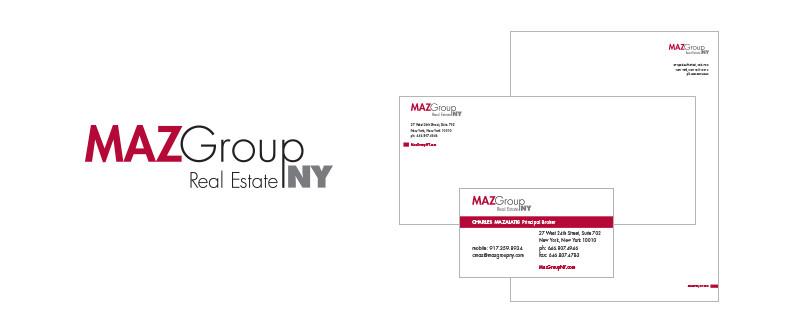 Maz Group NY Brand Identity