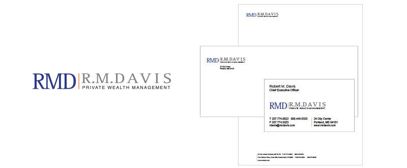 R. M. Davis Branding