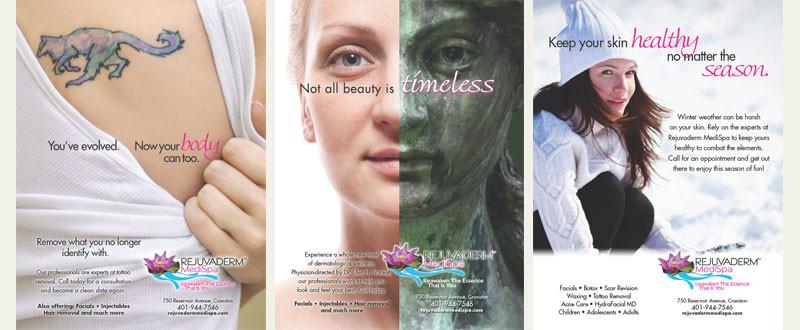 Rejuvaderm Print Advertising