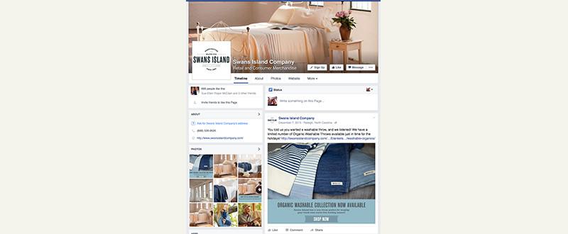 Swans Island Social Media
