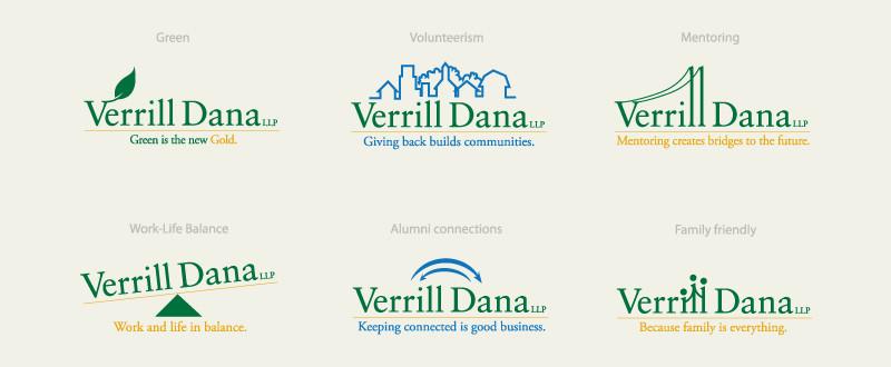 Verrill Dana Internal Logo System