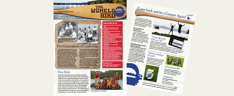 Wohelo Bird Newsletter