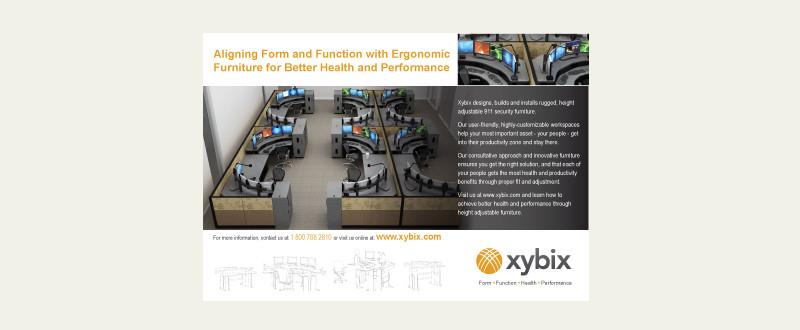 Xybix Print Ad