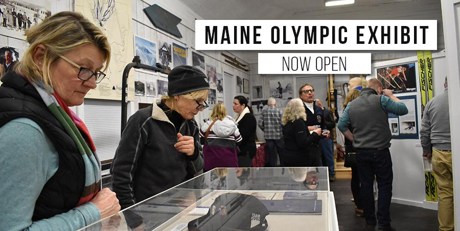 Maine Olympic Exhibit - Virtual Tour available from this page