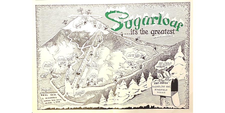 Map of Sugarloaf