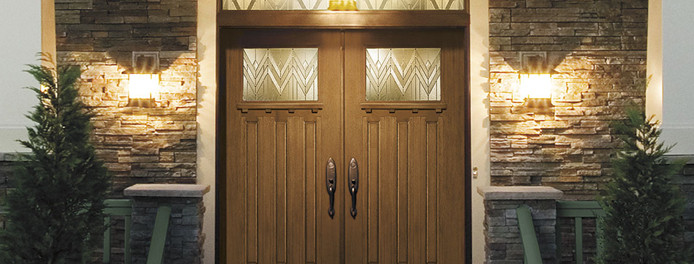 home in akron ohio with beautiful entry doors