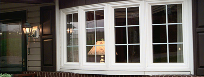 beautiful bow windows on a cleveland home