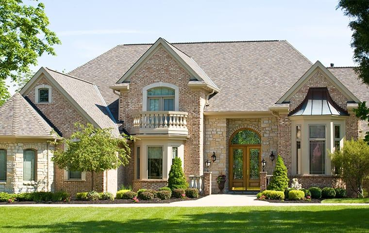 street view of a large home in waco texas