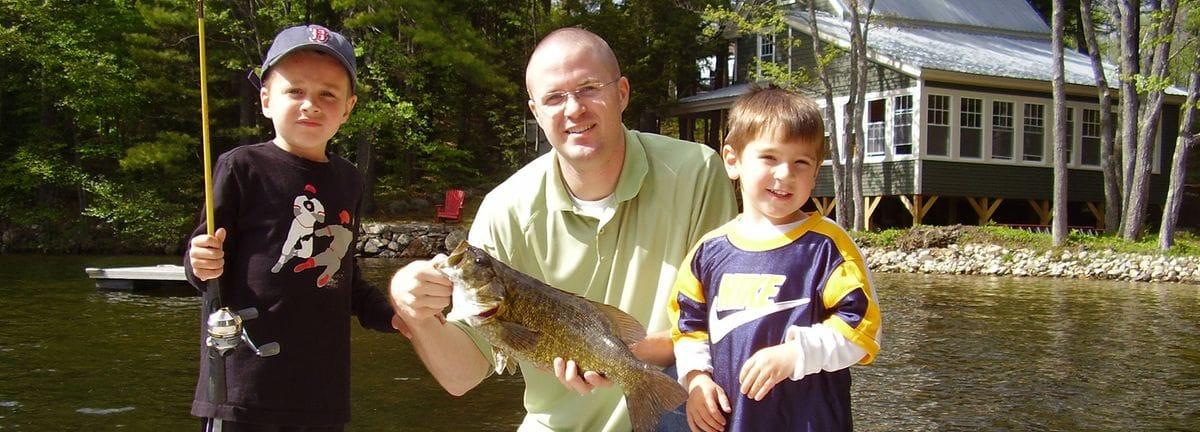 Fishing on Wilson Lake
