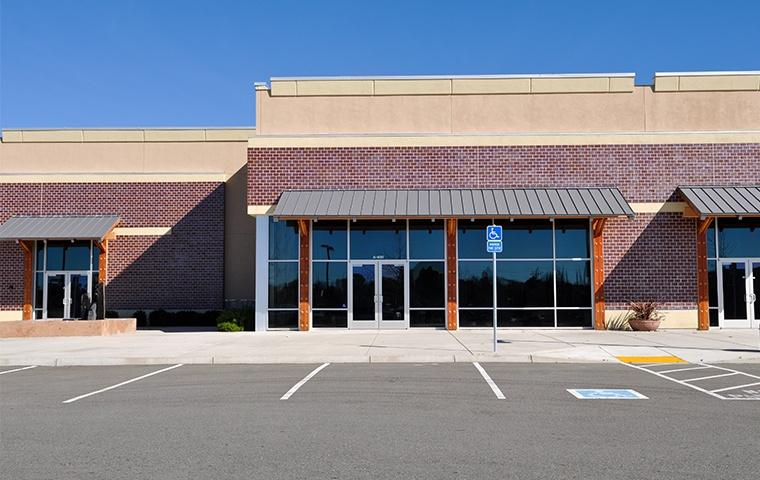 street view of a large commercial building in modesto california