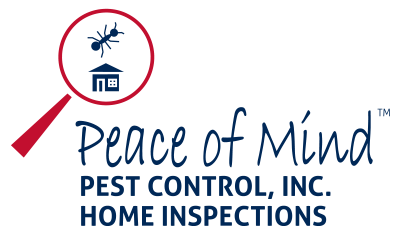 peace of mind pest control logo