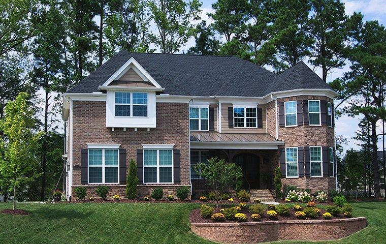 the exterior of a home in wake forest north carolina