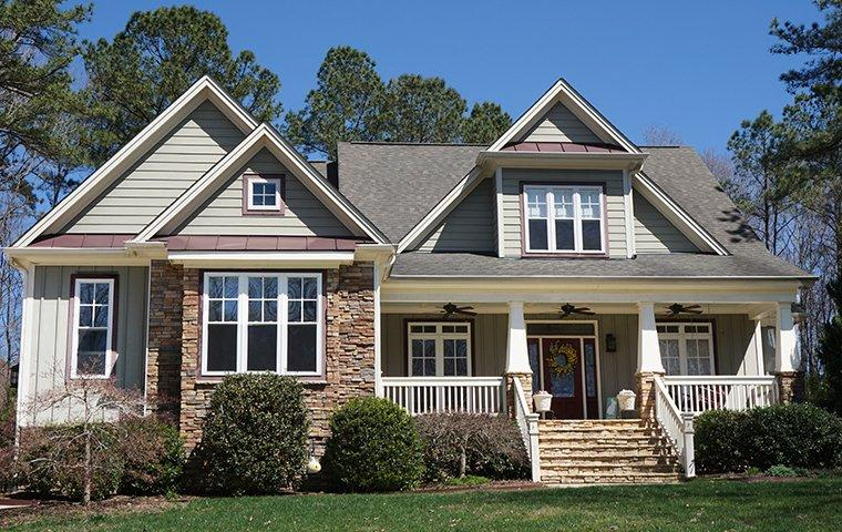 the exterior of a home in winston salem north carolina