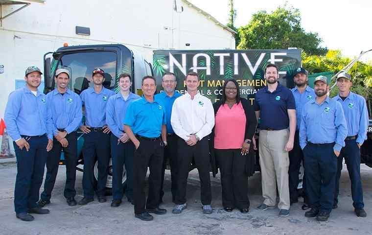 native pest management team photo