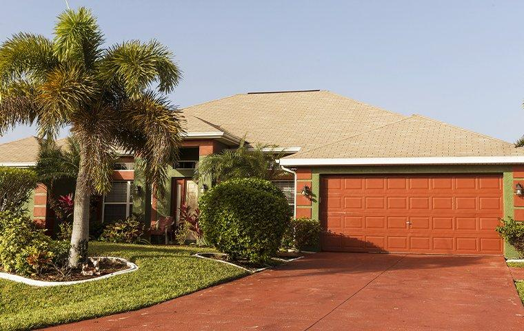 the exterior of a home in cooper city florida