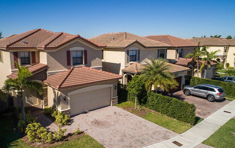 the exterior of a home in hallandale beach florida