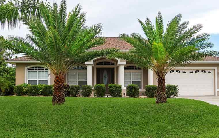 the exterior of a home in boca raton florida