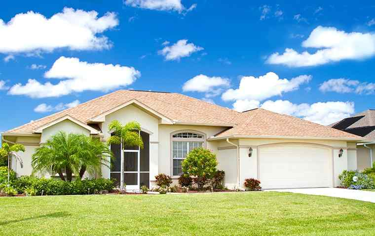 the exterior of a home in boynton beach florida