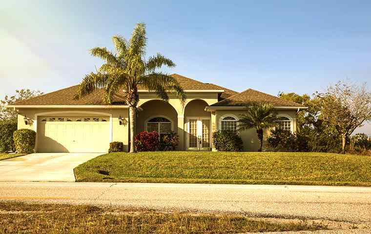 the exterior of a home in deerfield beach florida