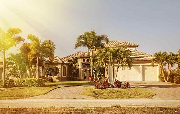 the exterior of a home in delray beach florida