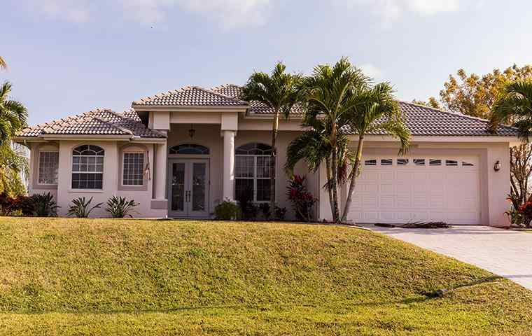 the exterior of a home in jupiter florida