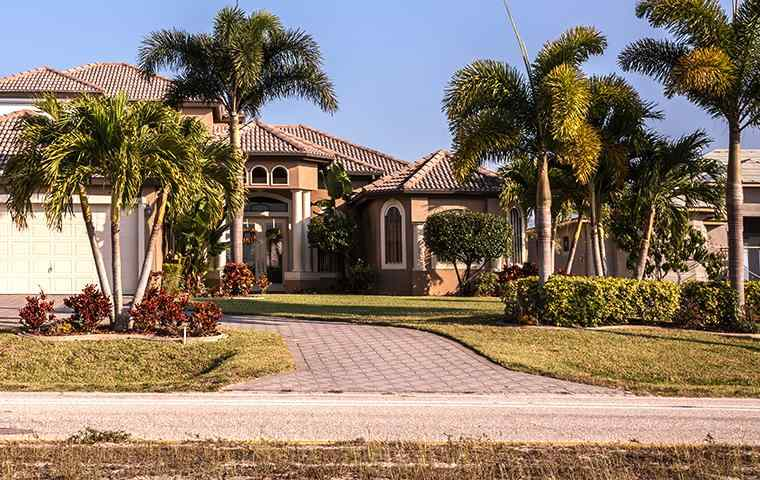 the exterior of a home in palm beach gardens florida