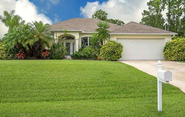 the exterior of a home in royal palm beach florida