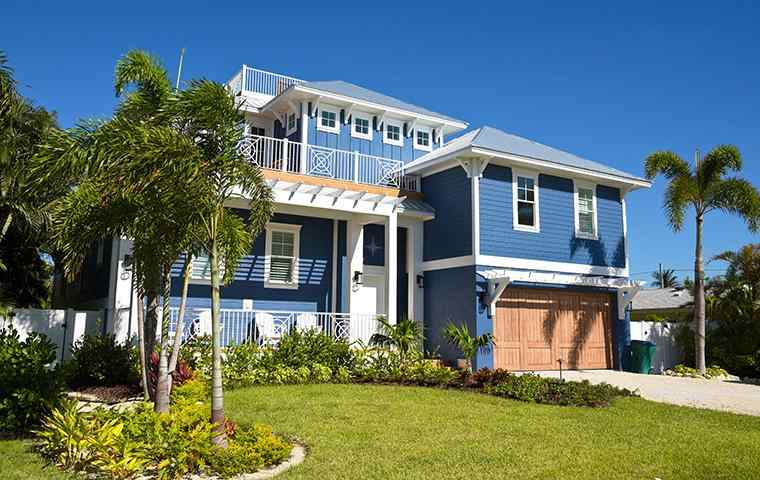 the exterior of a home in west palm beach florida