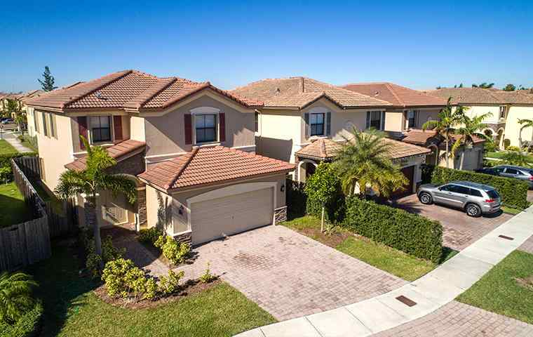 the exterior of a home in weston florida