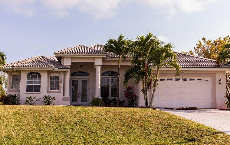 the exterior of a home in southwest ranches florida