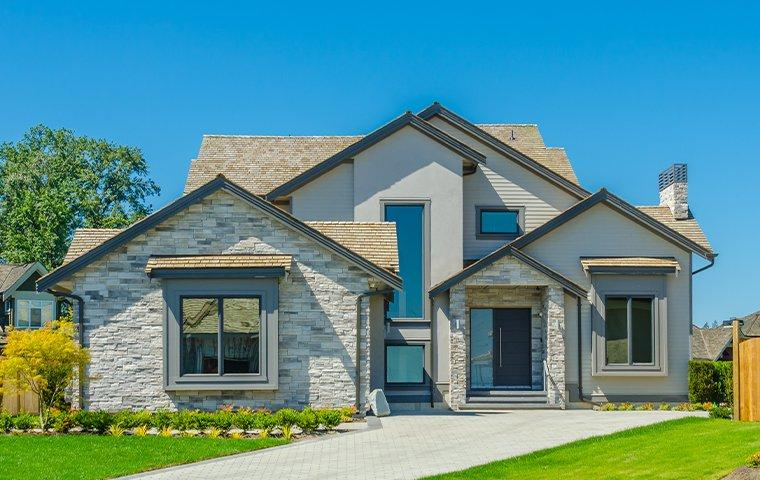 the exterior of a home in new buffalo michigan