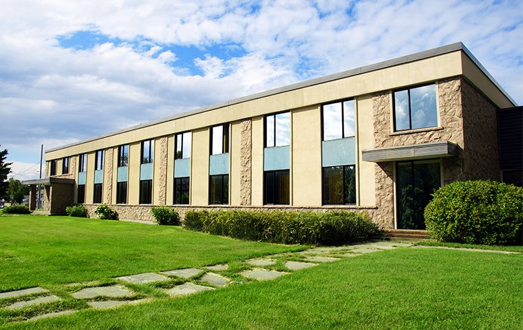 the exterior of a commercial office building in portage indiana