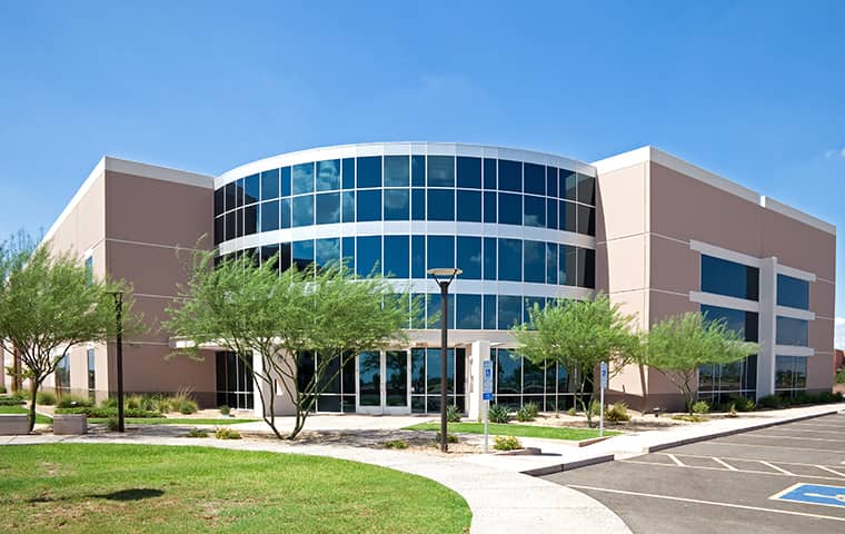 street view of an office building in canal point florida