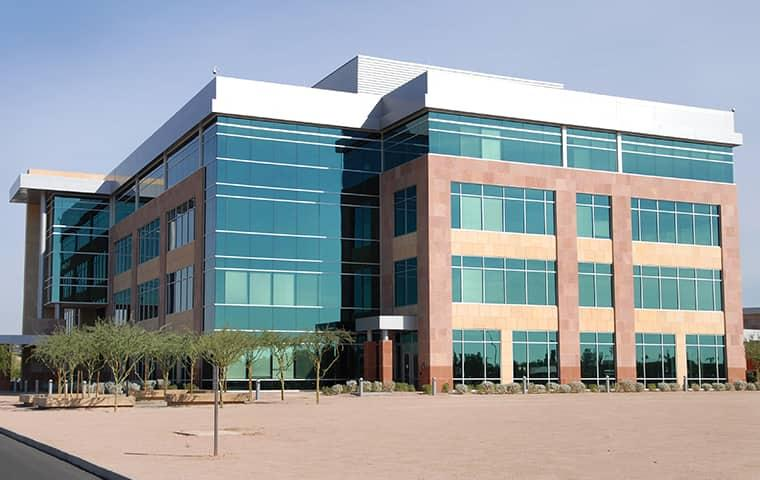 street view of a commercial building in frisco texas