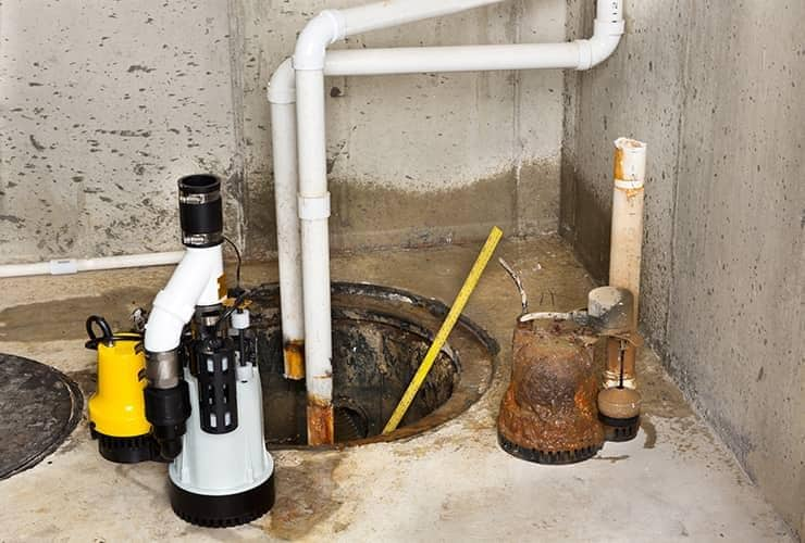 sump pump station in south carolina home