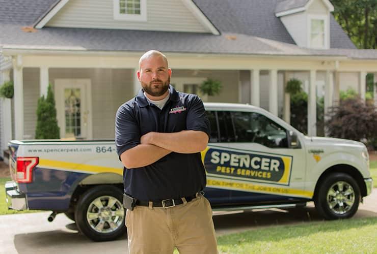 gaffney sc pest control service professional