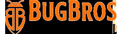 bug bros pest control logo in color