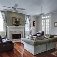 living room in hampden ma