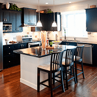 kitchen in holyoke home