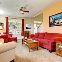 living room in palmer