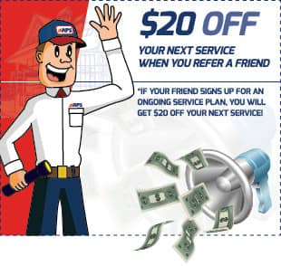 save $20 when you refer a friend