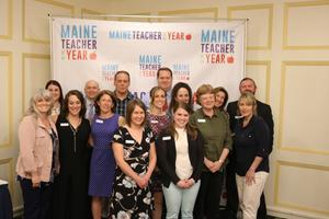Maine's 2019 County Teachers Announced Today at the Hall of Flags in Augusta