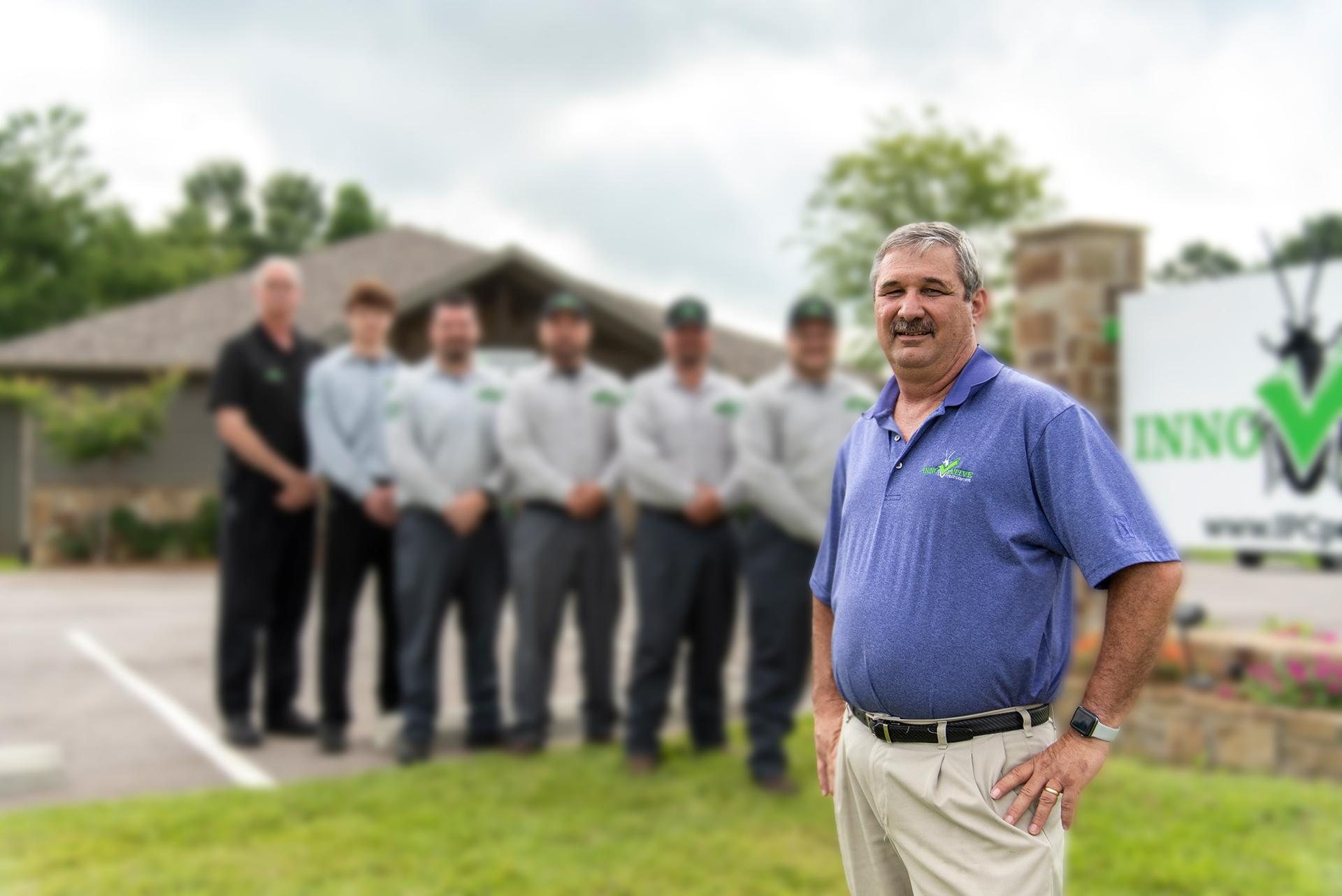 the innovative pest control staff members