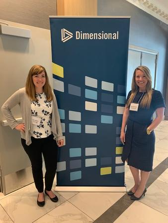 Mackenzie and Christina Attend DFA Conference