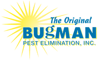 the original bugman pest elimination logo