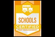 schools certified pest management logo